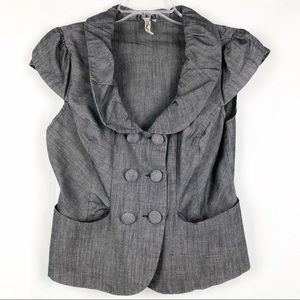HeartSoul | Gray Double Breasted Blazer